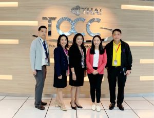 TOCC, Thai Airways Operation Control Center atSuvarnabhumiAirport site visit on 21 August 2019